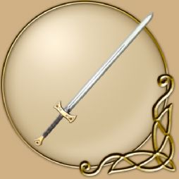 LARP  43 inch Sword Golden Champion